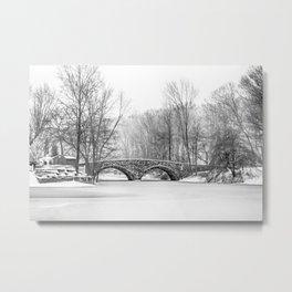 Stone Bridge Clove Lake Park Metal Print