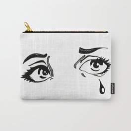 Sad Eyes Carry-All Pouch