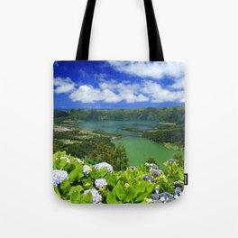 Crater lakes Tote Bag