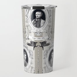 My favorite Authors Toile de Jouy Travel Mug