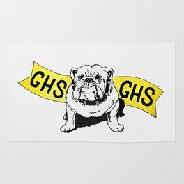GHS Bulldogs Rug