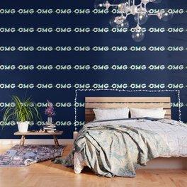 OMG (Glitch) Wallpaper