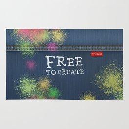 Denim Jeans - Free To Create Rug