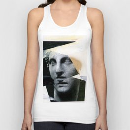 Untitled (Painted Composition 8) Unisex Tank Top
