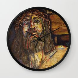 The Crucifixion Wall Clock