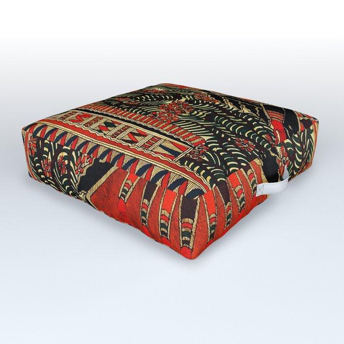 Hindu Kali 16 Outdoor Floor Cushion