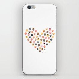 Vulva Heart iPhone Skin