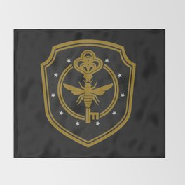 Brakebills embroidered patch - The Magicians Throw Blanket