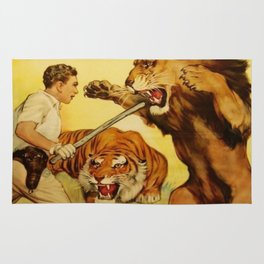 The Trained Wild Animal Rug