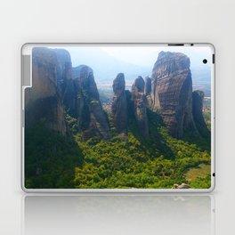 Meditation up to Meteora | Greece | Nature Laptop & iPad Skin