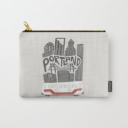 Portland Cityscape Carry-All Pouch