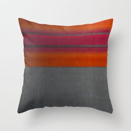 """Architecture, cement texture & colorful"" Throw Pillow"