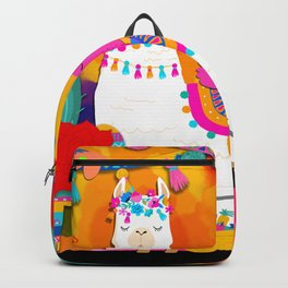 Fiesta Llama Backpack
