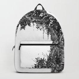 Black Cross Backpack
