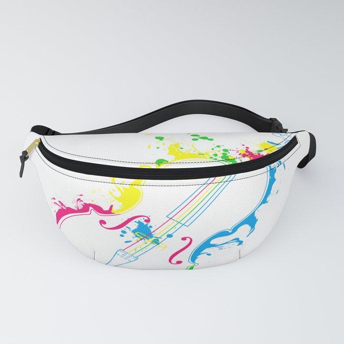 Violin Cello Violinist Gift Idea Fanny Pack