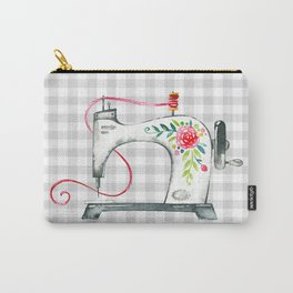 Floral Sew Carry-All Pouch