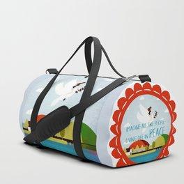 Peace mission 3 Duffle Bag