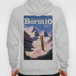 Bormio ,northern Italy. ski poster Hoody