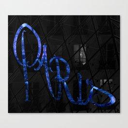 Paris Stilletto Canvas Print