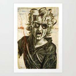 Kav Art Print