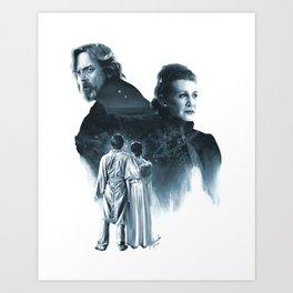 Twins Art Print