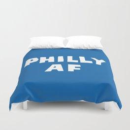 Philly AF (Blue) Duvet Cover