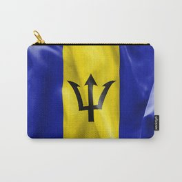 Barbados Flag Carry-All Pouch