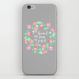 Perfect Love iPhone Skin