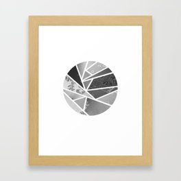 Glacé Framed Art Print