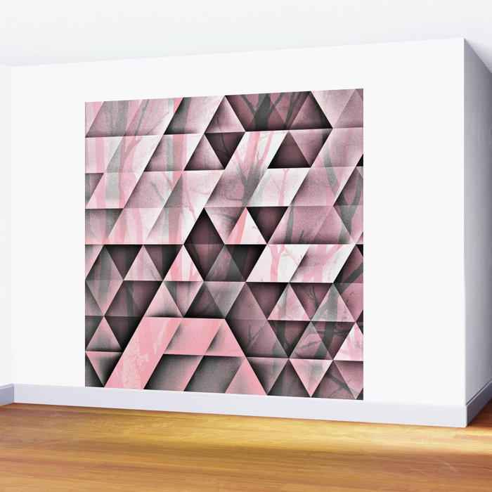 Pink's In Wall Mural
