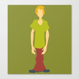 Shaggy Rogers Canvas Print