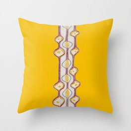 stitches - growing bubbles 2 Throw Pillow