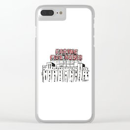 Five Roses Clear iPhone Case