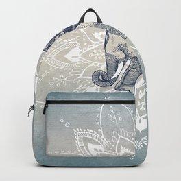 Elephant  Mandala Backpack