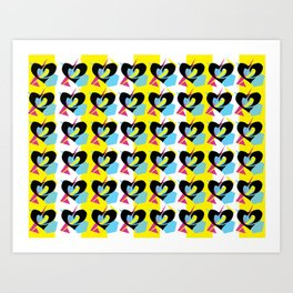 Phil Heartz Wallpaper Print Art Print