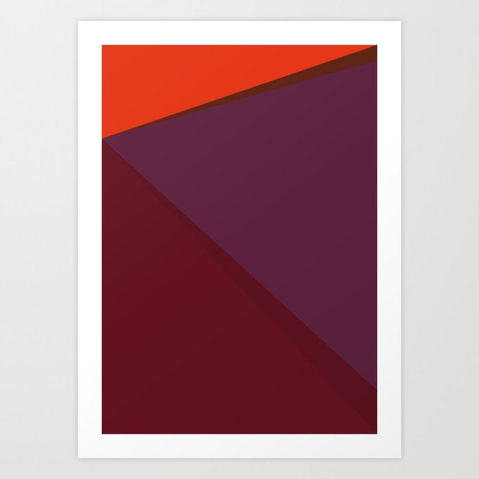 Music is Math (Autumn) Art Print