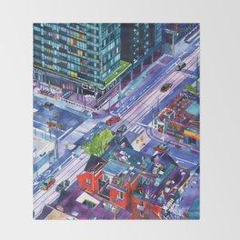 Toronto Throw Blanket