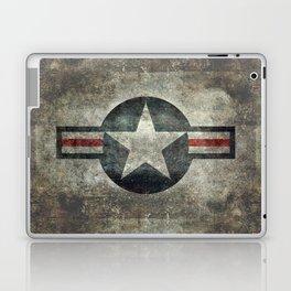 Stylized US Air force Roundel Laptop & iPad Skin