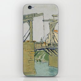 The Langlois Bridge iPhone Skin