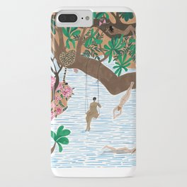 The Jungle Beach iPhone Case