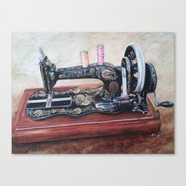 The machine V Canvas Print