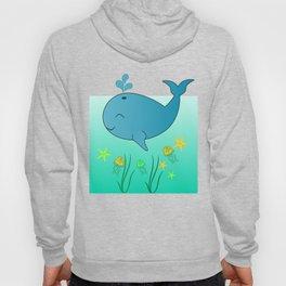 Happy baby whale Hoody