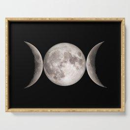 Triple Moon Serving Tray