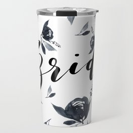 Bride to Be Florals Travel Mug