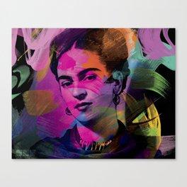 Frida Kahlo - Colors Canvas Print