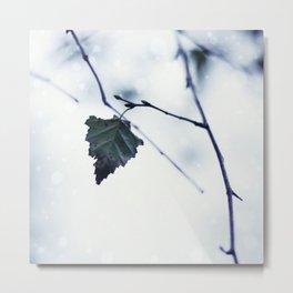 The last leaf Metal Print