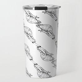 Mittens the Chameleon Print Travel Mug