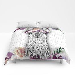FLOWER GIRL ALPACA Comforters