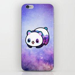 Kawaii Galactic Mighty Panda iPhone Skin