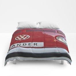 Wander van. Summer dreams. Red Comforters